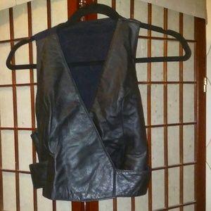 Badass Wilson's Leather Biker Vest